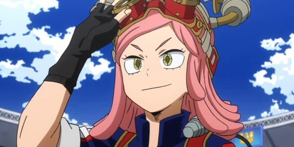 pink hair anime girl Mei Hatsume