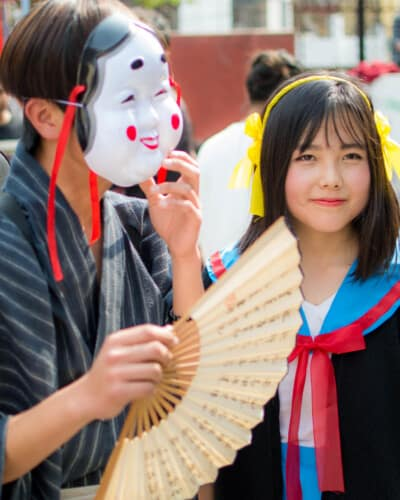 cosplay in nepal